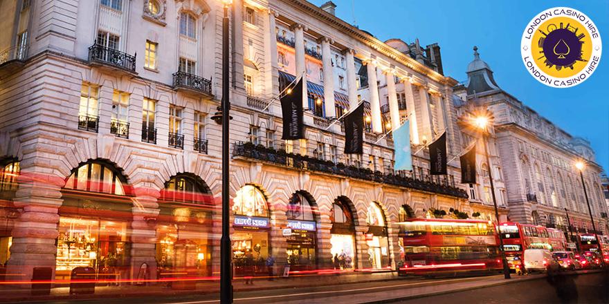 London casino hire working in Le Meridien