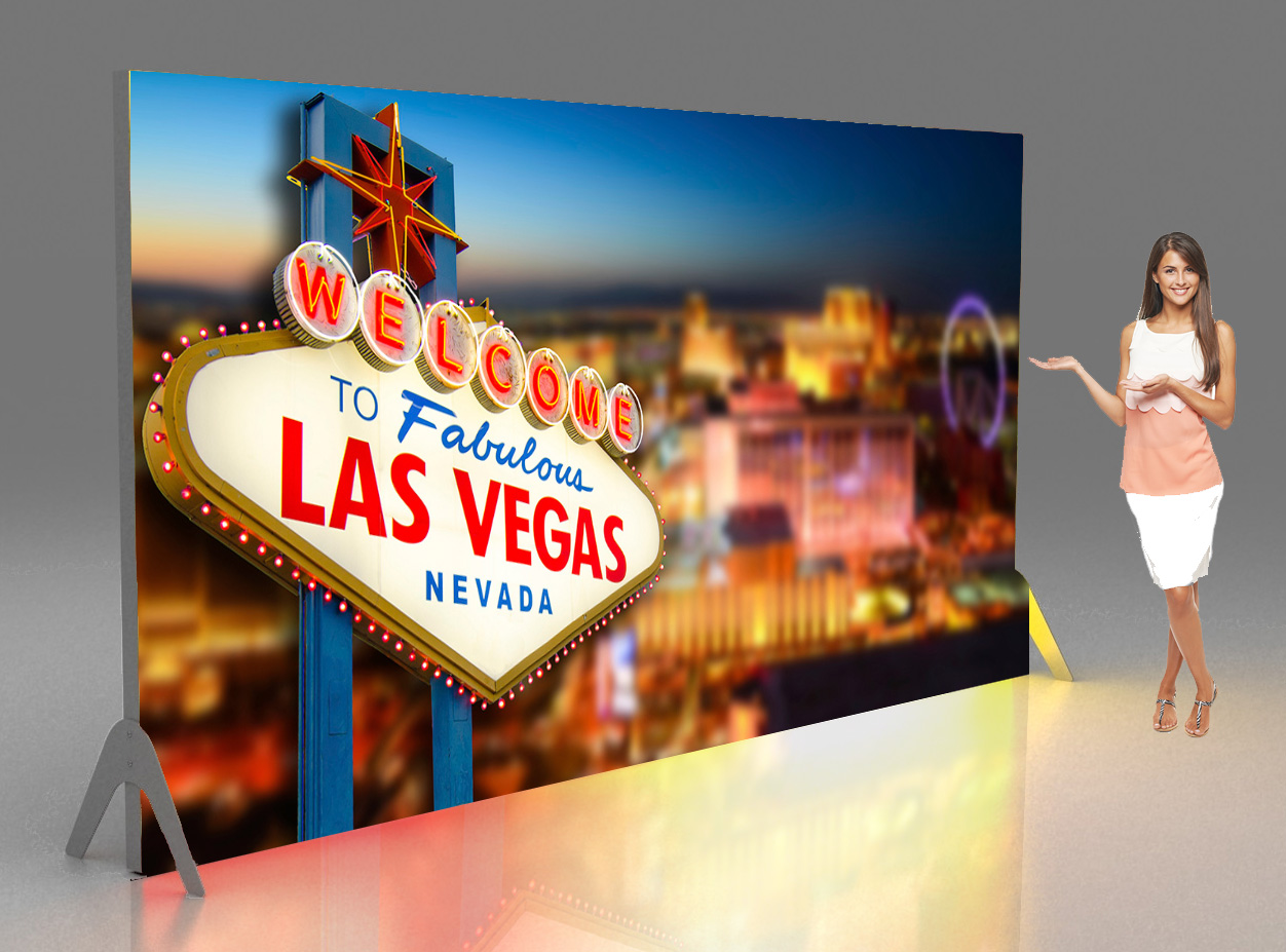 Large Las Vegas banner London casino