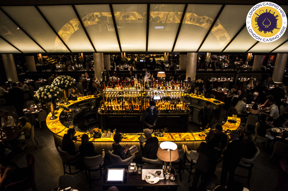 London casino Hire at quaglinos